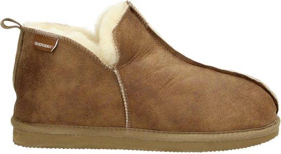 Shepherd Annie dames pantoffel – Cognac – Maat 39