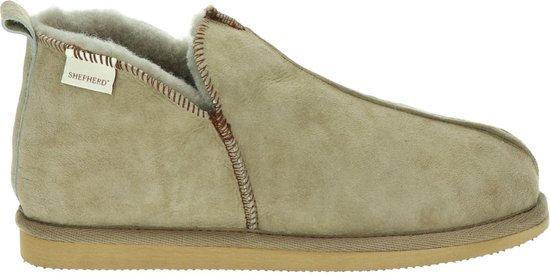 Shepherd Annie dames pantoffel – Taupe – Maat 39