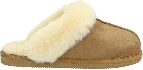 Shepherd dames pantoffel – Cognac – Maat 37