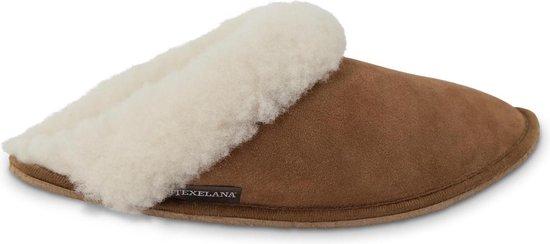 Tosca instapper/slipper/pantoffel van schapenvacht – maat 38