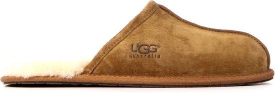 UGG Mannen Pantoffels – Mens scuff – Cognac – Maat 43