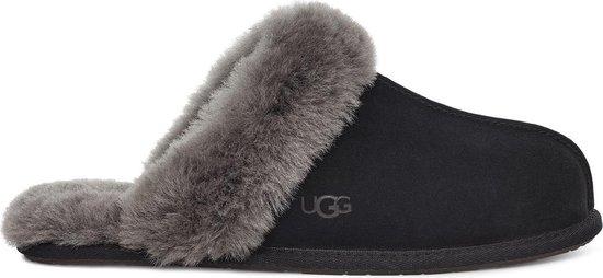 UGG Scuffette II Dames Sloffen – Black/Grey – Maat 38