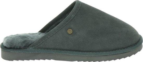 Warmbat Classic Suede Unisex Pantoffels – Grijs – Maat 44