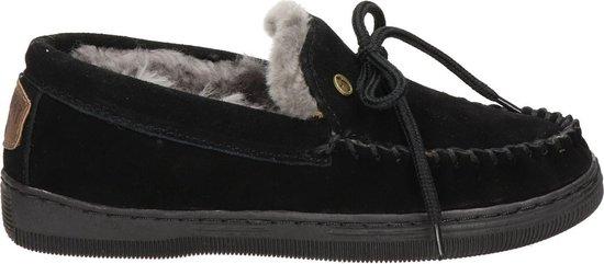Warmbat Koala Suede Dames Pantoffels – Black – Maat 39